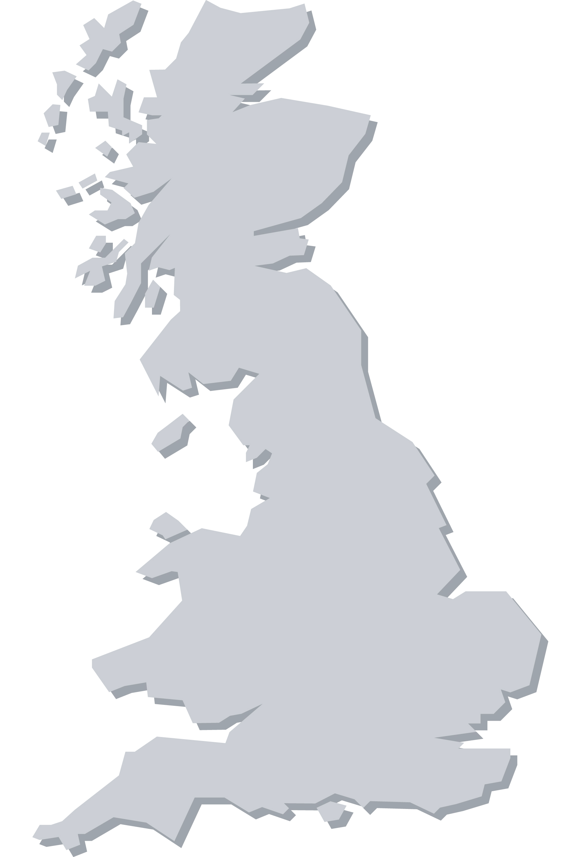 Map of Britain.